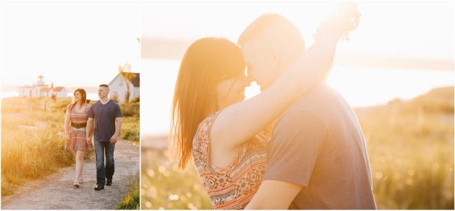 Discovery Park Engagement Photography