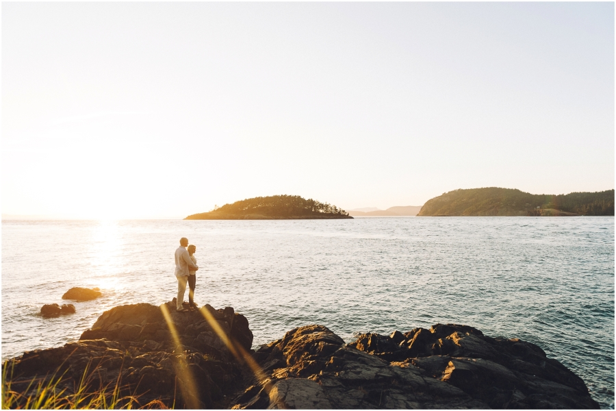 Deception Pass State Park Engagement Session